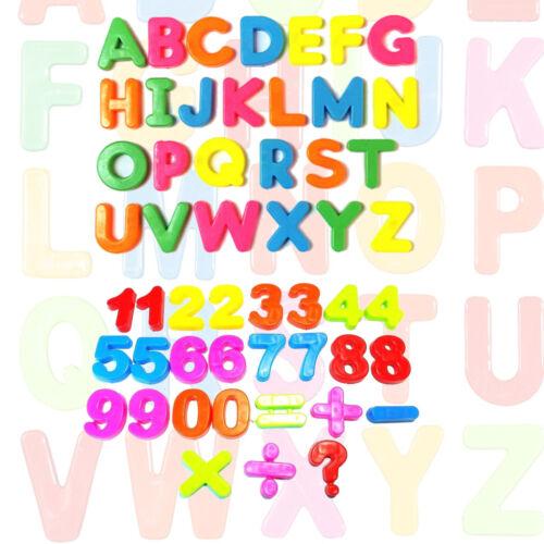 Kids Learning Teaching Magnétique Jouet lettres /& chiffres Aimants Alphabet