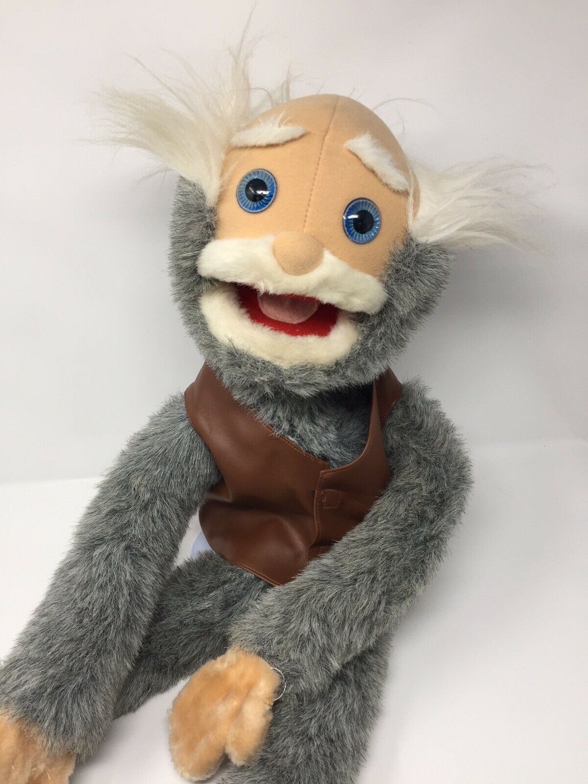 Sunny And Co Ape Man Puppet Hand Puppet Ventriloquist Magic Prop Story Teller