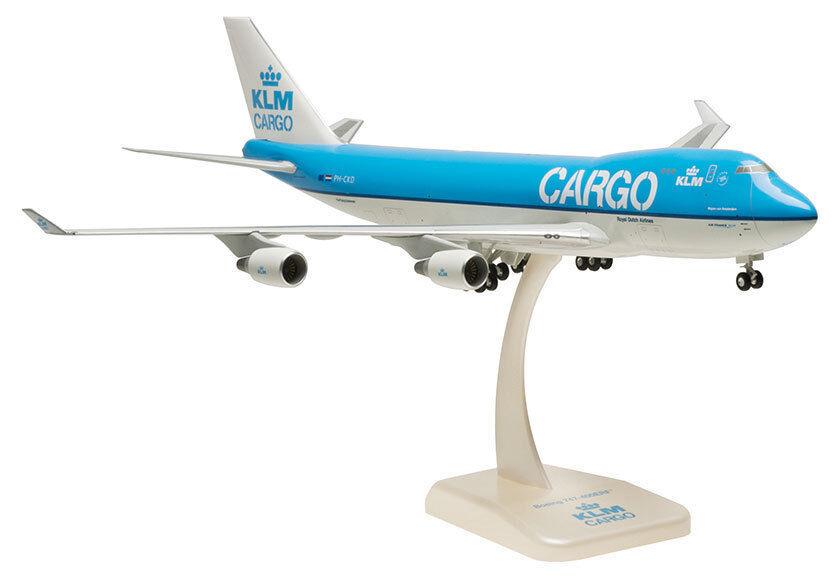 Klm Cargo boeing 747-400erf 1 200 Hogan Wings modelo 0571 b747 jumbo flete nuevo
