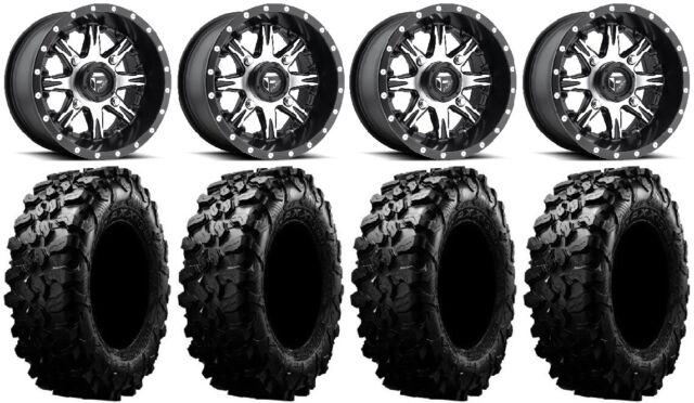 4//156 D5411470A544 4+3 Fuel Nutz 14x7 ATV//UTV Wheel Matte Black