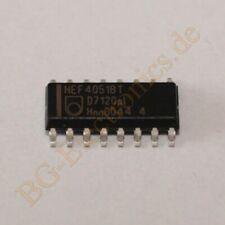 5 x HEF4052BT Dual 4-channel analogue multiplexer//demultip Philips SO-16 5pcs