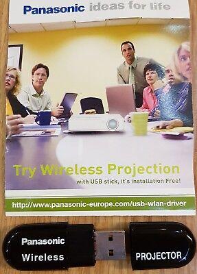 Verantwortlich Panasonic Wireless Projector Usb Stick Modul Adapter Wireless Dongle Pt-lb60nte