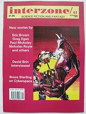 UK SF Magazine - INTERZONE No. 41 (1990) – Greg Egan