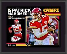 "Patrick Mahomes Kansas City Chiefs 2018 NFL MVP 10.5"" x 13"" Sublimated Plaque"