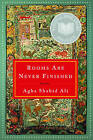 Rooms are Never Finished: Poems by Agha Shahid Ali (Paperback, 2003)