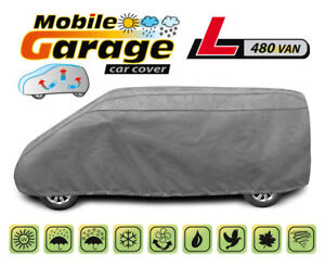 Housse-de-protection-voiture-L-480-cm-pour-VW-Transporter-T5-T6-Impermeable