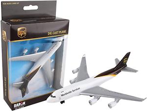Realtoy Die Cast Metal (Grey) Ups Single Plane (DARON8941) 830715043449