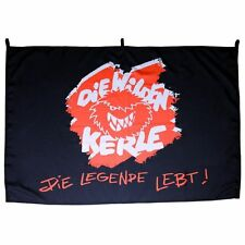 Wilde Kerle FLAGGE FAHNE Die Wilden Kerle Schwarz Die Legende lebt! 75 x 115 cm