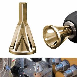 1x-Gold-Deburring-Repair-Damaged-Bolts-Quickly-Bolt-Thread-Repair-Tool-Drill-Bit