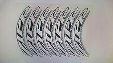 decalcomanie adesivi stickers zipp 303 set per 2 ruote