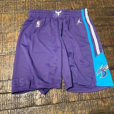 online store 5abcb 85db6 Nike NBA Charlotte Hornets Jordan Icon Swingman Shorts 879956 566 Mens SZ M  | eBay