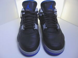 o Negro 16 Jordan Iv 308497 Nike Air Motorsport Azul 006 887224228263 Retro Tama Alternate 4 O4T7W50wq