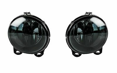 2 x Black Fog Lights with 2 x H11 Bulbs for E53 E92 E93 F07 F10 F11 F22 F23