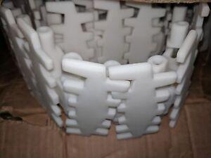 Flexlink-XHTP-5-Plain-White-Conveyor-Chain-New-in-Box