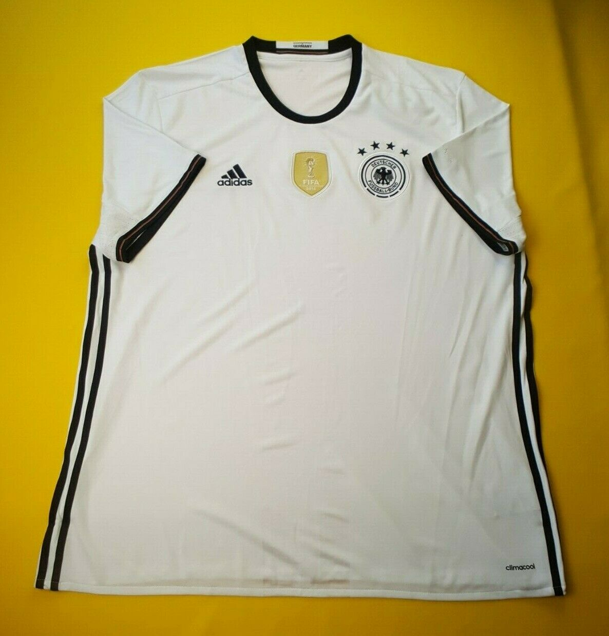 4.9 5 Germany soccer jersey 2XL 2016 home shirt AI5014 football Adidas ig93