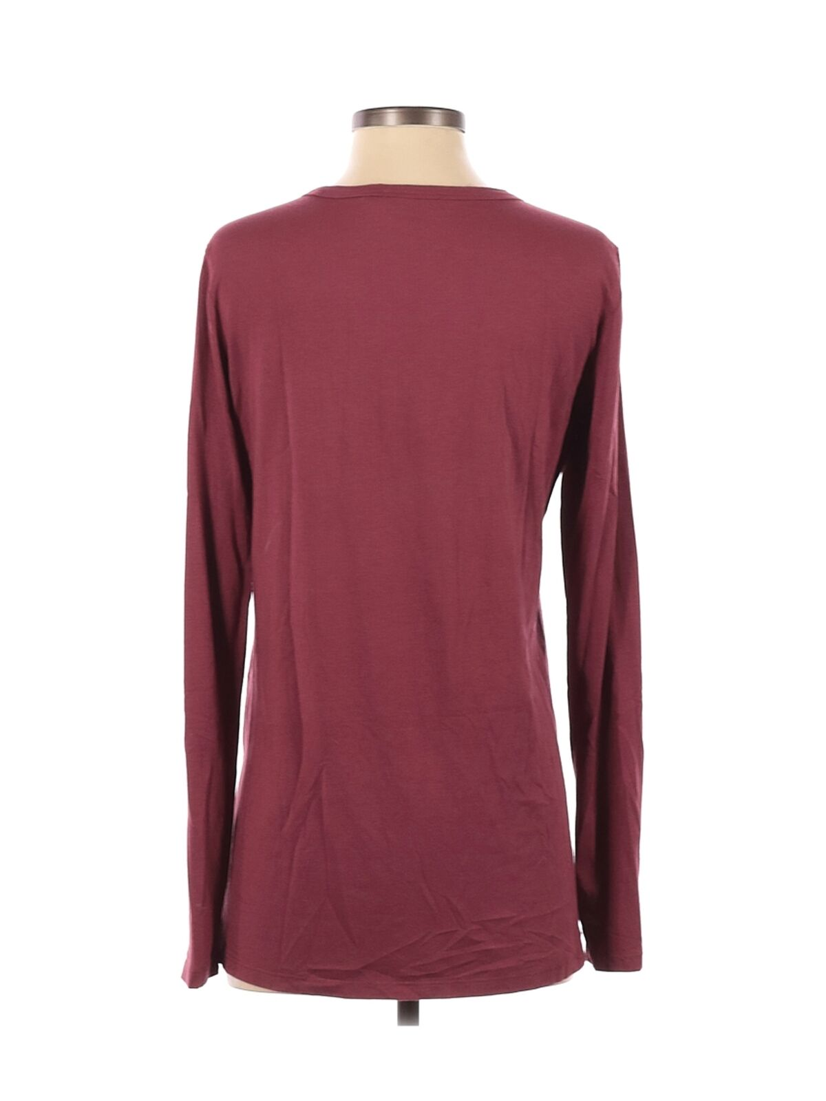 Theory Women Red Long Sleeve T-Shirt S - image 2