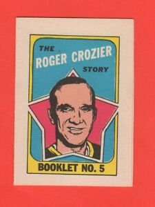 1971-72-O-Pee-Chee-OPC-5-Roger-Crozier-Booklet-nrmnt