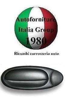 MANIGLIA PORTA ANTERIORE DX EST NERA FIAT MULTIPLA 98/>10 5P 1998/>2010