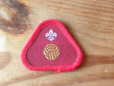 Athlete 1 Discontinued UK Scouting 1980/'s Scout Proficiency//Activity Badge