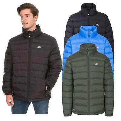 Details about Trespass Mens Puffer Winter Jacket Padded Hooded Insulated Coat XXS XXXL