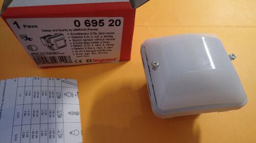 Legrand 69520 ou 695 20 Eco Détecteur automatique PLEXO etanche 2 fils
