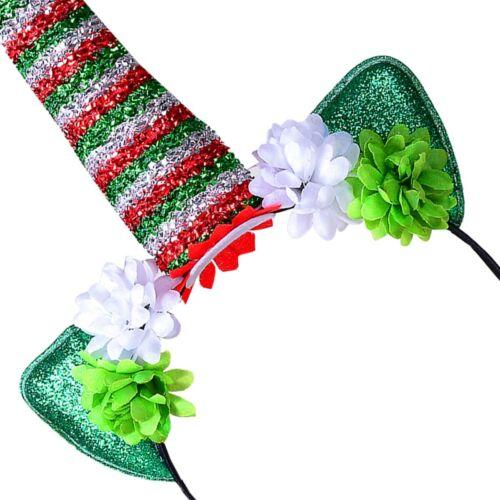 Christmas Theme UNICORN HEADBAND Fancy Dress Party Celebration Xmas Costume UK