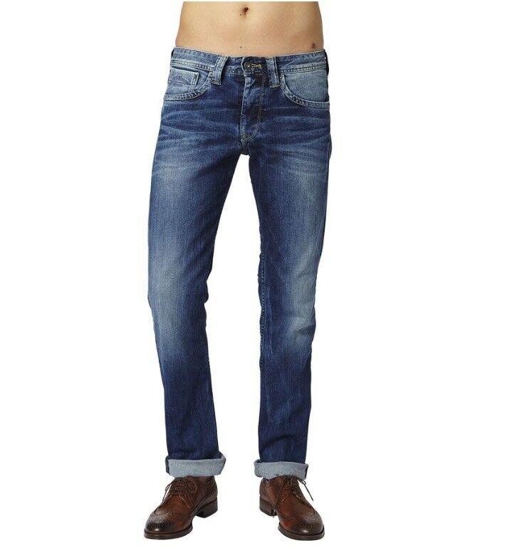 Finsbury Cash 11oz STREAKY Stretch Med Jeans Uomo