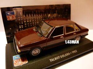 SIM31L-coche-1-43-IXO-ALTAYA-SIMCA-Talbot-Solara-1983