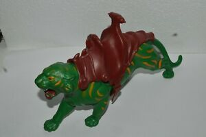 1981-Masters-Of-The-Universe-BATTLE-CAT-Green-Tiger-He-Man-Mattel-Excellent-Cond