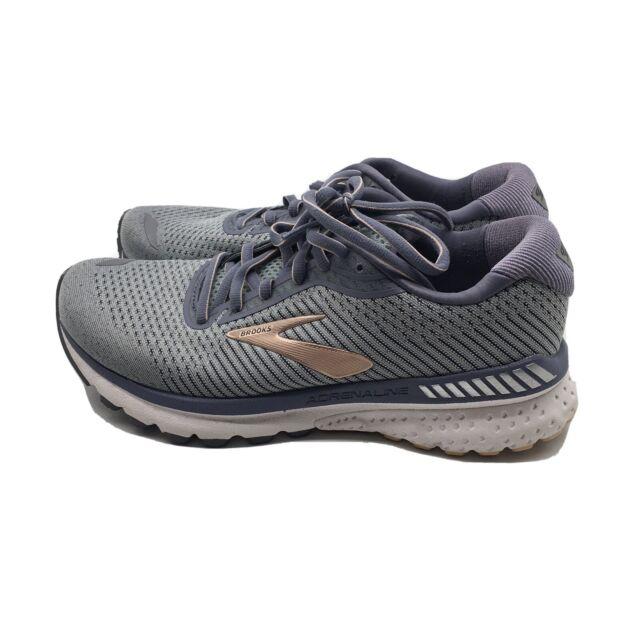 Brooks Adrenaline GTS 20 1202961D073 Running Shoe - Women's Size 8 W, Grey