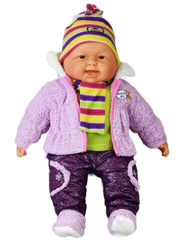 50.8cm Réaliste Taille Grand Heureuse Visage Corps Doux Baby-Doll Filles Garçons