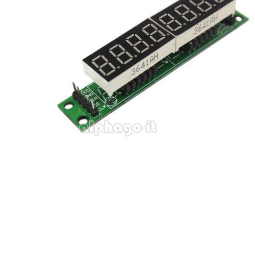 MAX7219 8 Digit LED Display 7 Segment Digital Tube For Arduino Raspberry Pi