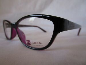 8feded6c677 GLORIA VANDERBILT EYEGLASS FRAME GG4046 240 BLACK PINK 52-16-133 NEW ...