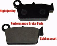 Yamaha Yz250f Yz 250f Rear Brake Pads Racing Pro Factory Braking 2003-2012 on sale