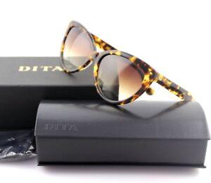 c1943a113cf5 NEW Authentic DITA ECLIPSE Cat Eye Tokyo Tortoise Brown Sunglasses ...