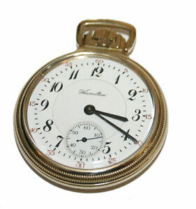Hamilton 10k Gold Filled 23 Jewel Pocket Watch Model 950 Circa 1916 Ebay