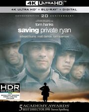 Saving Private Ryan (DVD, 2018, 4K Ultra HD Blu-ray/Blu-ray)
