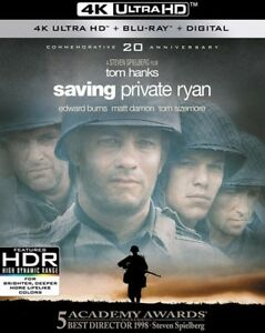 Saving-Private-Ryan-New-4K-UHD-Blu-ray-With-Blu-Ray-4K-Mastering-Ac-3-Dolb