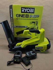 RYOBI P21120VNM 110 MPH 350 CFM ONE+ HP 18V Brushless Cordless Jet-Fan