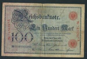 German-Empire-Rosenbg-30-used-III-1907-100-Mark-8981262