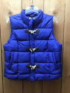 b7a58688cea Arizona Jeans Puffer Vest XL Juniors Size Quilted Toggles Zip Up ...