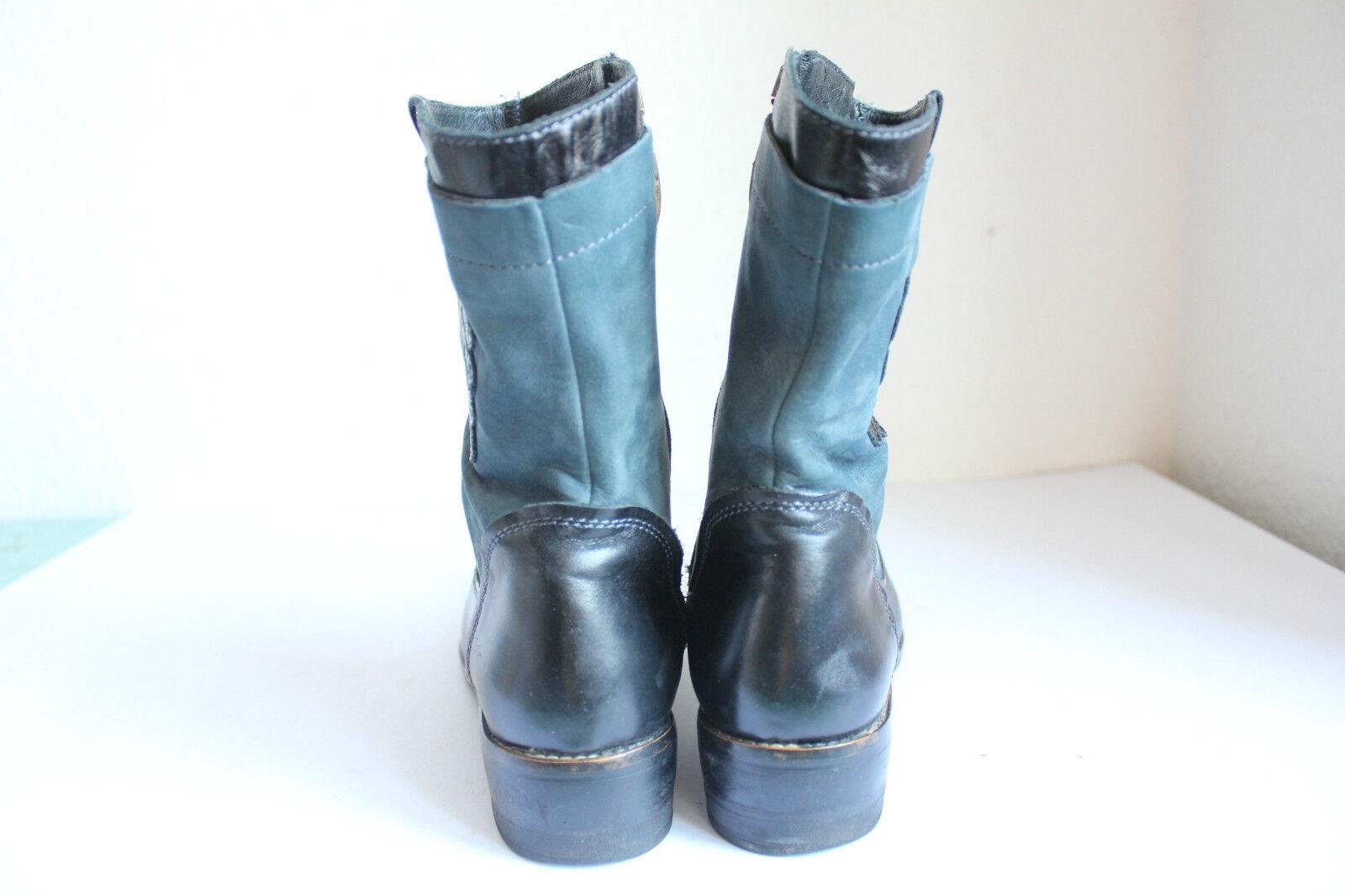 Martinelli Luxus Echtleder Elegante High Stiefel Stiefel Echtleder Luxus Eu:38-38,5 6ee69c
