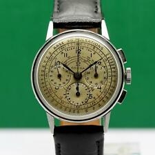 1940's OMEGA CHRONOGRAPH STAINLESS STEEL CAL 27CHRO MANUAL WIND MEN'S WATCH