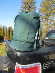 Tag Heuer Vintage 90's Green Duffel Bag Backpack, Original Owner