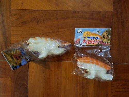 SALE Yamomark GID Sushira Sushi Ebi Salmon Osaka Expo Sofubi Vinyl Figure