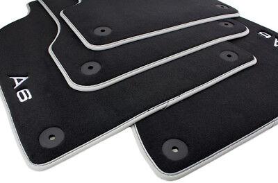 C7 ab 2011 Lim /& Avant Automatten Autoteppiche Fußmatten Premium Audi A6 4G