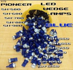 3-BLUE-8V-LED-WEDGE-LAMP-SX580-SX680-SX780-SX750-SX3700-3800-3900-SX820-Pioneer