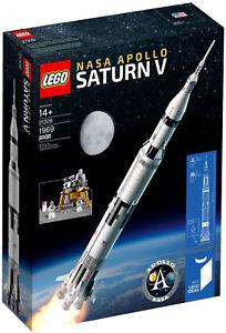 LEGO IDEAS 21309 SATURN V APOLLO LEGO NASA NUOVO - Italia - LEGO IDEAS 21309 SATURN V APOLLO LEGO NASA NUOVO - Italia