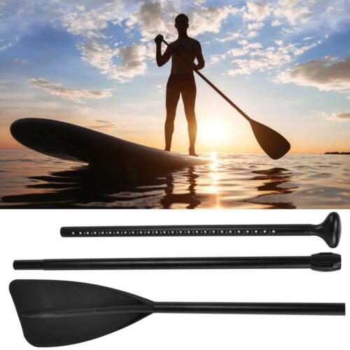 Aluminum Alloy 3 Sections Adjustable Paddle Standup Paddles for Surfing Kayak