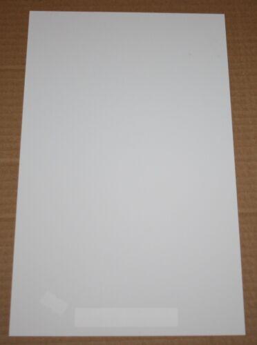 MAQUETT 601-07 WHITE STYRENE SHEET 194mm x 320mm x 3.00mm